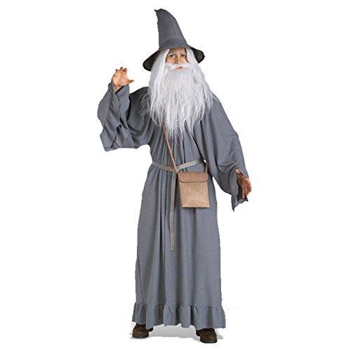 dalf Kostüm für Erwachsene (Der Hobbit Erwachsenen Gandalf Hut)