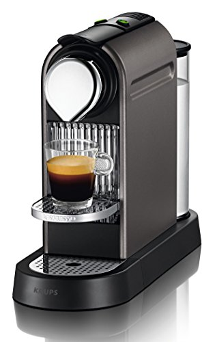 Nespresso Citiz Titan XN720TP4 Krups - Cafetera monodosis (19 bares,...