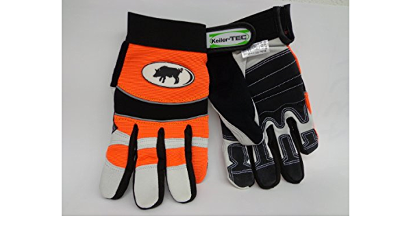 orange//wei/ß gr/ö/ße 12 Handschuhe keiler fit winter