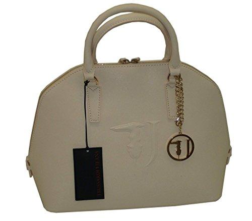 TRUSSARDI Sac JEANS B555 handbag BUGATTI Ivoire