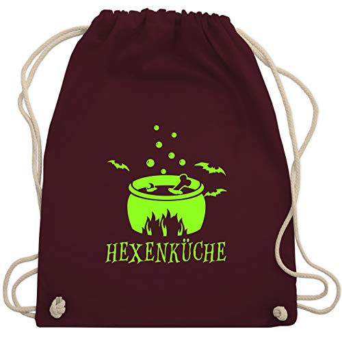 Halloween - Hexenküche - Unisize - Bordeauxrot - WM110 - Turnbeutel & Gym Bag -