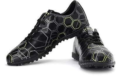 NIVIA HARD GROUND FOOTBALL SHOE BLACK GREEN IND / UK 5