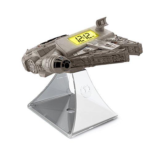 iHome SW-347 Star Wars: Millennium Falke Wecker mit Sound grau (Radiowecker Ihome)