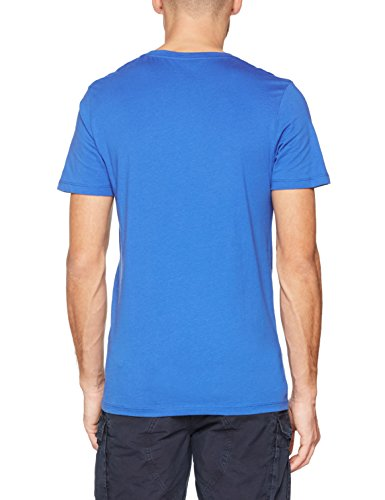 JACK & JONES Herren T-Shirt Jornewraffa Tee SS Crew Neck NOOS Blau (Nautical Blue Fit:Reg)