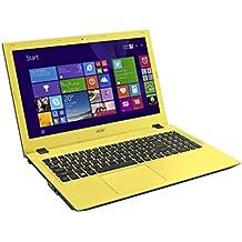 "Acer Aspire E5-573G-34W6 - Portátil de 15.6"" (Intel Core i3 4005U, 4 GB de RAM, Disco HDD de 500 GB, Intel HD Graphics 4400, Windows 10 Home), negro y amarillo -Teclado QWERTY Español"