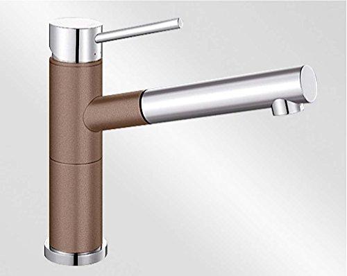 Preisvergleich Produktbild BLANCO ALTA-S Compact muskat/chrom 521739