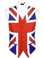 Mens Union Jack Waistcoat, British, Great Britain