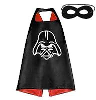 Perfetti per tutti i bambini che desiderano diventare dei supereroi. Il costume è composto da mascherina e mantello. Scegli il tuo supereroe preferito e iniza la festa! Unisex e adatto per bambini dai 3 ai 10 anni