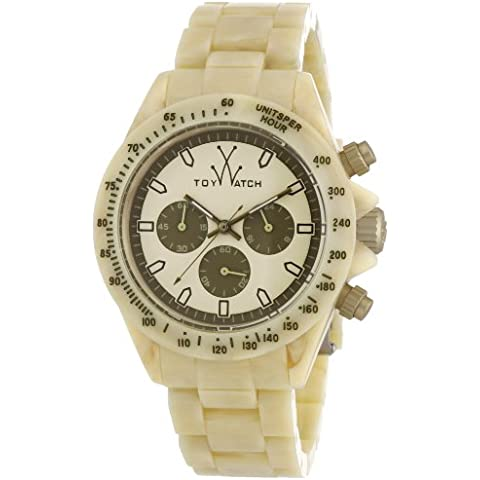 ToyWatch FLE08HR - Orologio unisex - Chronograph Beige Dial