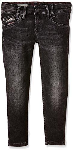 Pepe Jeans Jungen Jeans, SNEAKER, GR. 128 (Herstellergröße: 8), Schwarz (Denim 000-V96)