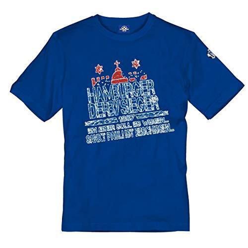 Volkspark Hamburg Shirt Derbysieger Blau 4XL