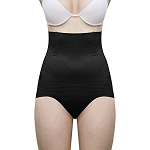 LACE AND ME Laceandme Magic Wire No Rolling Down Tummy Tucker Women's Shapewear BLK