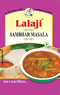 Lalaji Supreme Quality Sambhar Masala Used in Dishes for its mouthwatering Taste 100 gm