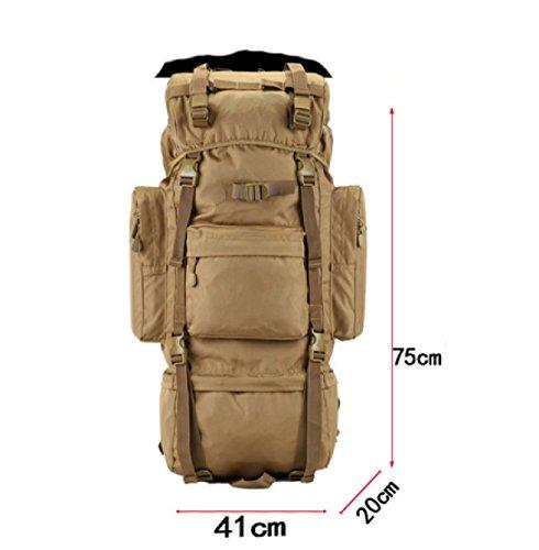 LAIDAYE Außentasche Bigbags Bergsteigen Reisetaschen Schultertaschen 2