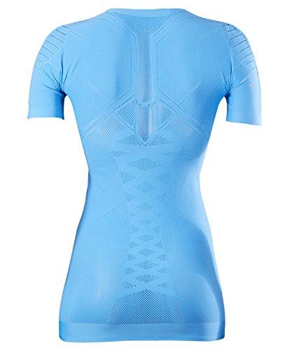FALKE–Maglia intima Underwear Cool a maniche corte Tight Fit donna Sport Blue Note