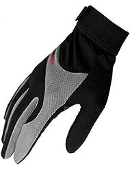 Caracol Los modelos masculinos y femeninos al aire libre de escalada guantes de montar llena de deslizamiento del dedo guantes de protecci¨®n solar completa dedo guantes que montan en bicicleta los guantes llenos del dedo