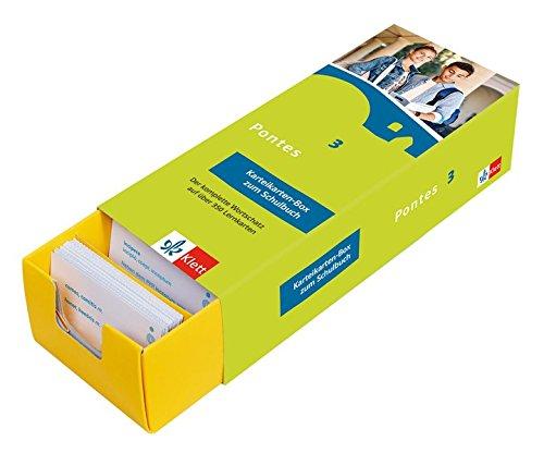 Pontes 3 - Vokabel-Lernbox zum Schulbuch: Latein passend zum Lehrwerk üben