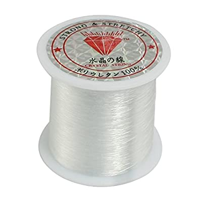 0.2mm Diameter Clear Nylon Fish Fishing Line Spool Beading String from Dimart