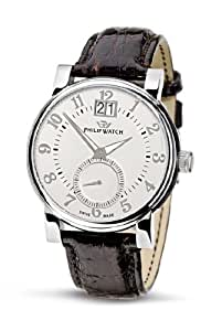 Philip Men's Wales Analogue Watch R8251193065 with Quartz Movement, White Dial and Stainless Steel Case