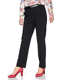 Malva by Adler Mode Damen Cityhose Bella - Stoffhose, Businesshose,  Anzughose, Damenhose - dcadbe990b