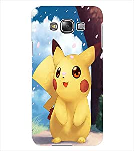 ColourCraft Cute Cartoon Creature Design Back Case Cover for SAMSUNG GALAXY GRAND MAX G720