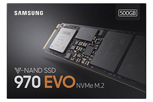 Samsung 970 Evo 500 GB M.2-2280 NVME Solid State Drive
