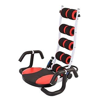 SportPlus Bauchtrainer & Rückentraining (2in1 Fitness-Gerät) • effektives Bauchmuskeltraining • 3fach verstellbaren Widerstand • AB Shape Trainer • Bauchtrainer Gerät • Sicherheit geprüft • SP-ALB-007