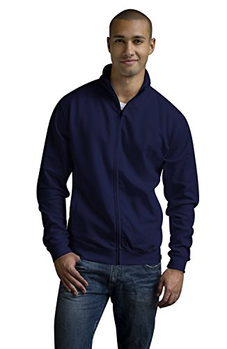 JH047 Fresher Full Zip Sweat Jacke Sweatshirt, Farbe:New French Navy;Größen:XXL (Cashmere-zip-kapuzen-pullover)
