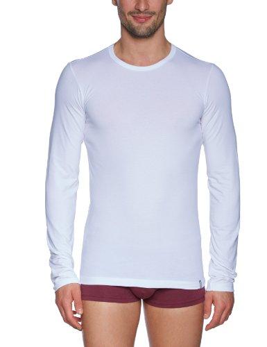 Schiesser Herren Unterhemd Shirt 1/1 Arm, Gr. XX-Large (Herstellergröße: 8 (XXL)), Weiß (100-weiss) (8 Shirt-kollektion)