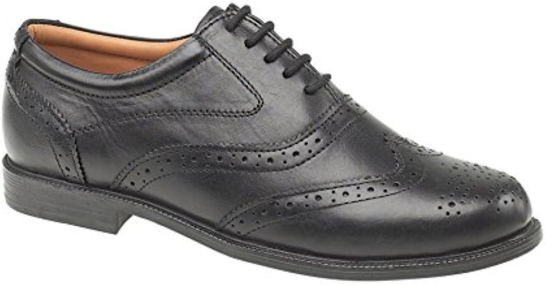 Amblers Hombre Liverpool Estilosos Zapatos Inglés Oxford Brogue Formal De Cuero