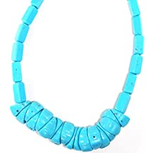 Alessandra Schmidt Collar Azul Turquesa