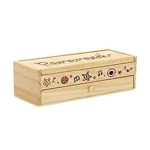 Pen Box/Double Durable Kinder-Multifunktions-Holz Federmäppchen Nette Kreative Holz Federmäppchen Männliche Und Weibliche Studenten -