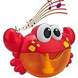Seilent Juguetes de Baño, Maquina Burbujas Bañera Portatil con 12 Música y Burbuja Automática, para Ducha de Niños Baño de Burbujas