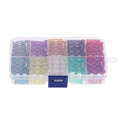 100pcs Medium Motorcycle Boat Truck Blade FUSES Kit Assortment Case Assorted Car Fuse