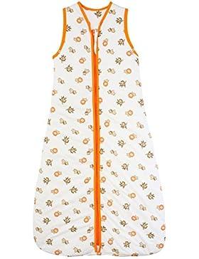 Schlummersack Winter Babyschlafsack 3.5 Tog - Wilde Tiere - erhältlich in verschiedenen Größen: von Geburt bis...