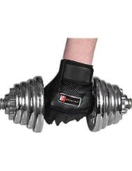 HATCHMATIC Gimnasio para Fortalecer los músculos Guantes de Entrenamiento Orts Levantamiento de Pesas Entrenamiento del Ejercicio 10.4: Negro