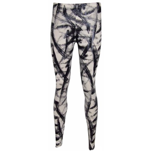 New Women's Leggings Treggings Animal Print Chain American Flag Belt Offer Wet Look comfy Thick Jeggings One Size