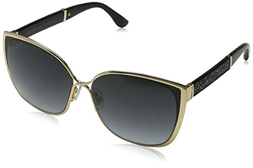 Jimmy Choo Damen Maty/S 9O 17B 58 Sonnenbrille, Gold (Gdbk Glitter/Dark Grey Sf)