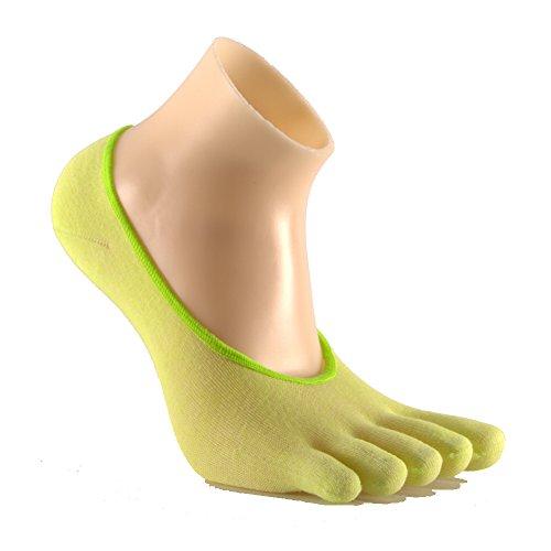 Preisvergleich Produktbild Gotena five toes socks ghost yellow S (34-37) zehensocken