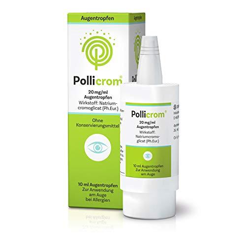 Pollicrom 20 mg/ml Augentropfen, 10 ml Lösung
