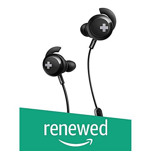 Renewed Philips Shb4305bk Bass Wireless Bluetooth Headphones Black Mydukan