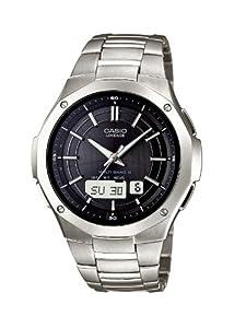 Reloj Casio Radio Controlled - digital de caballero de cuarzo con correa de titanio plateada (alarma, cronómetro, alarma, solar) de Casio
