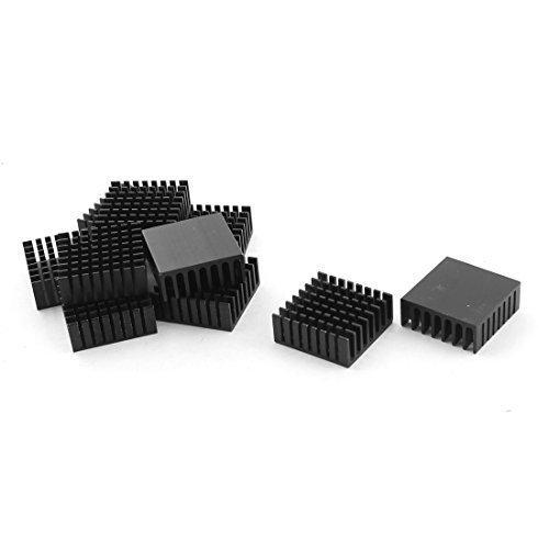 10-pcs-black-aluminium-cpu-heatsink-heat-sink-28x28x11mm