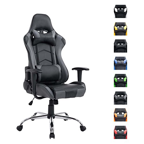 clp xxl gaming stuhl b rostuhl miracle belastbar bis 150. Black Bedroom Furniture Sets. Home Design Ideas