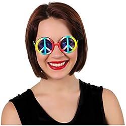 Atosa - Sol/gafas hippy símbolo paz