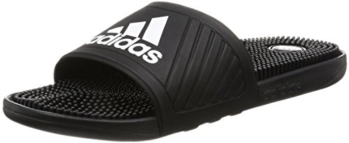 adidas Men's Voloossage Beach and Pool Shoes, Black (Core Black/Ftwr White/Core Black),...