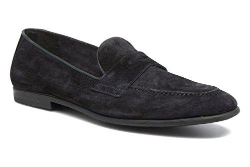 11sunshop Giacomo Scarpe Modello Classico in Camoscio e Pelle Disegno di HGilliane in 33-46 Grey