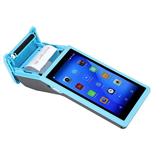 Wendry Thermodrucker, 58 MM für Quad-Core-CPU, 8 GB, Nand-Flash-Bluetooth-Drucker, Blau, Betriebssystem Android 6.0, Thermodrucker (110-240 V)(EU) - 8 Gb Nand-flash