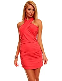 Top Secret Damen Sommerkleid Jerseykleid Shirt Longshirt Longtop Strandkleid NEU