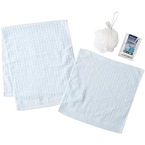 RAFFREDDAMENTO + PLUS asciugamano xilitolo (asciugamano viso x 1 asciugamano sapone x 1 x 1 Sensazione palla ammissione x 1) TCD1505713 (japan import)